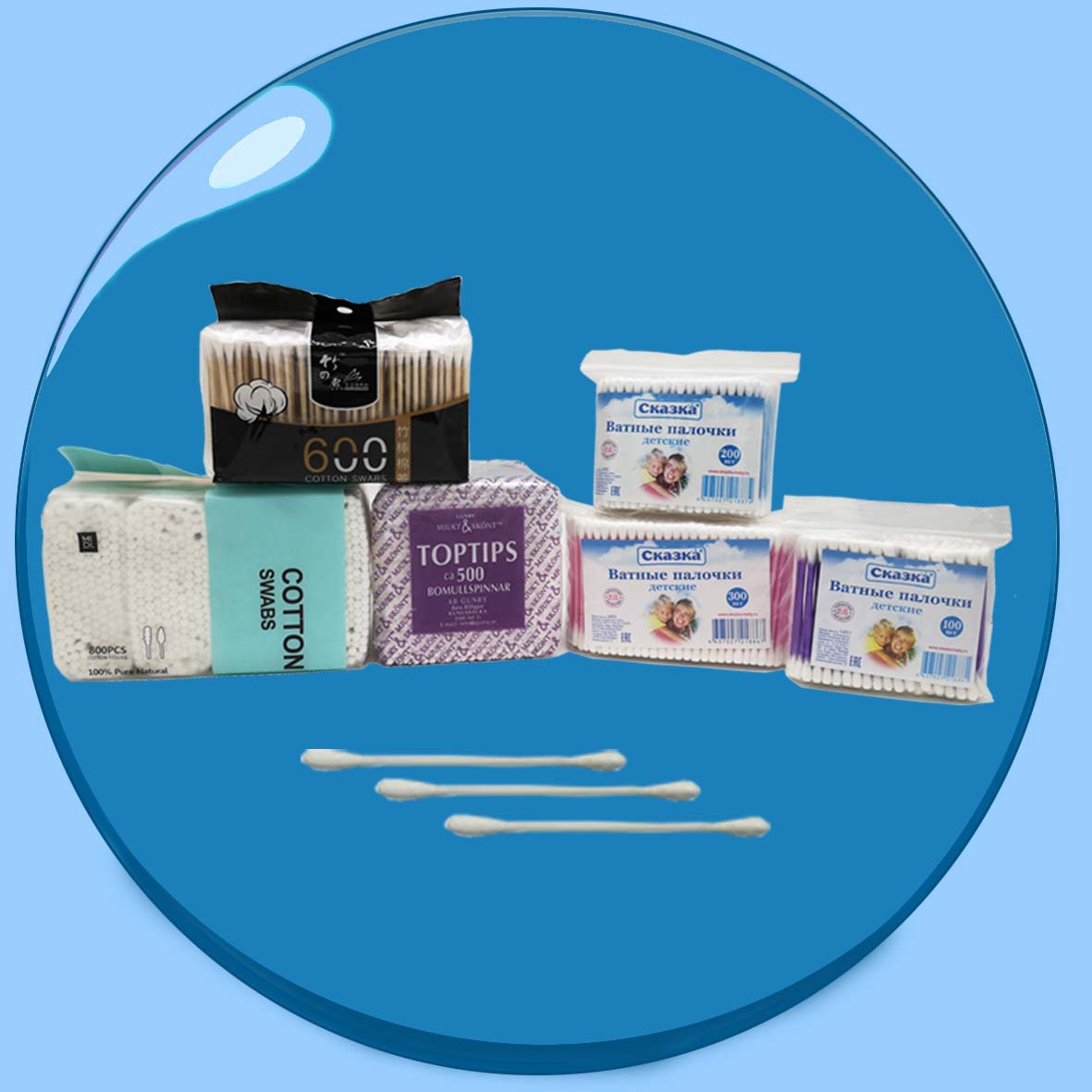 China Cotton Swabs fabricante