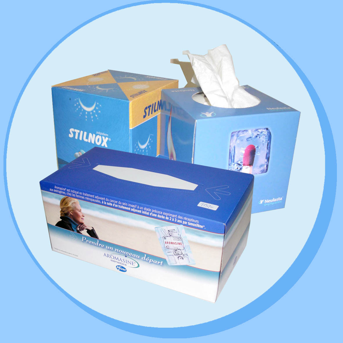 China Regular Shape Box Tissue manufacturer