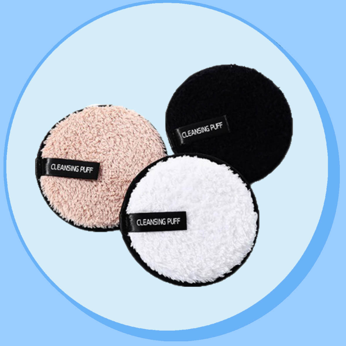 중국 Reusable Makeup Remover Pad 제조 업체