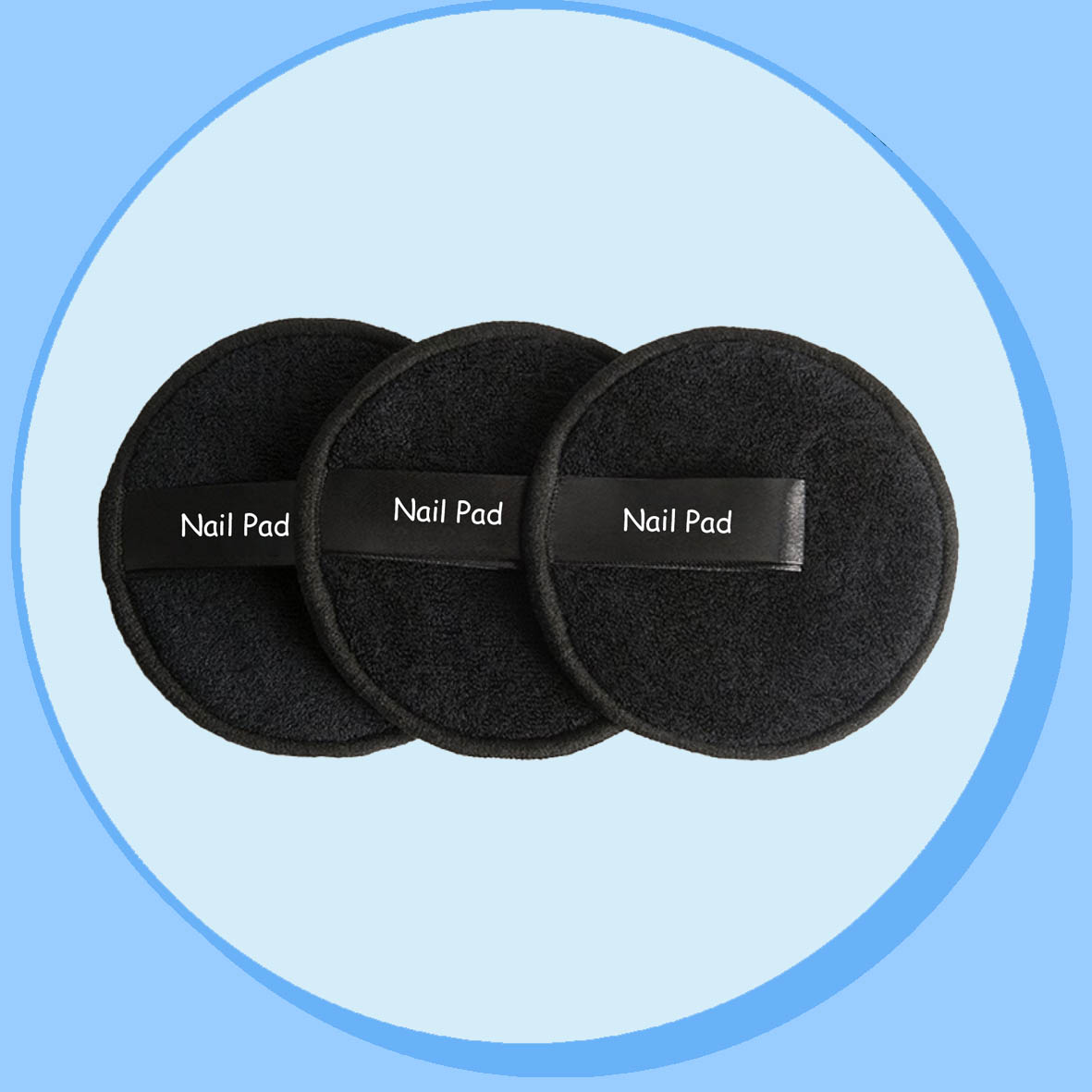 China Reusable Nail Polish Remover Pad manufacturer