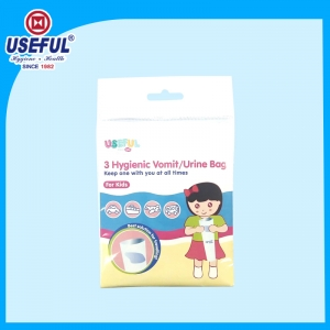3pcs Kids Disposable Vomit/Urine bag for Advertising