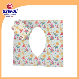3ply water resistant toilet seat cover for promotion
