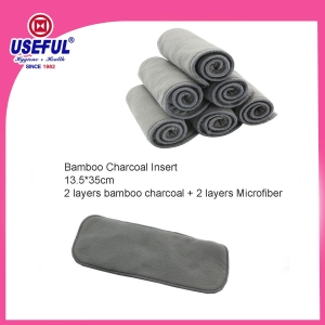 Bamboo Charcoal Diaper Insert