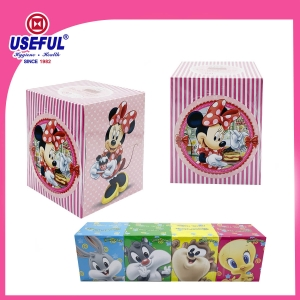 Licensed Tissue -Cube Box