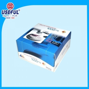 Square Box Tissue for advertising