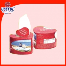 China Heart Shape Box Tissue voor Premium fabriek