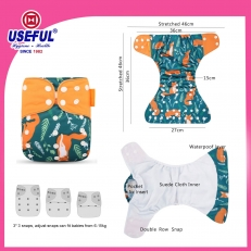 La fábrica de China Reusable Diaper Cover