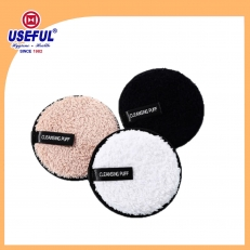 Chine Reusable Makeup Remover Pad with Piping for Premium Gift usine